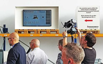 iVision Lösung erfolgreich auf der CeMAT in Hannover mit Jungheinrich präsentiert